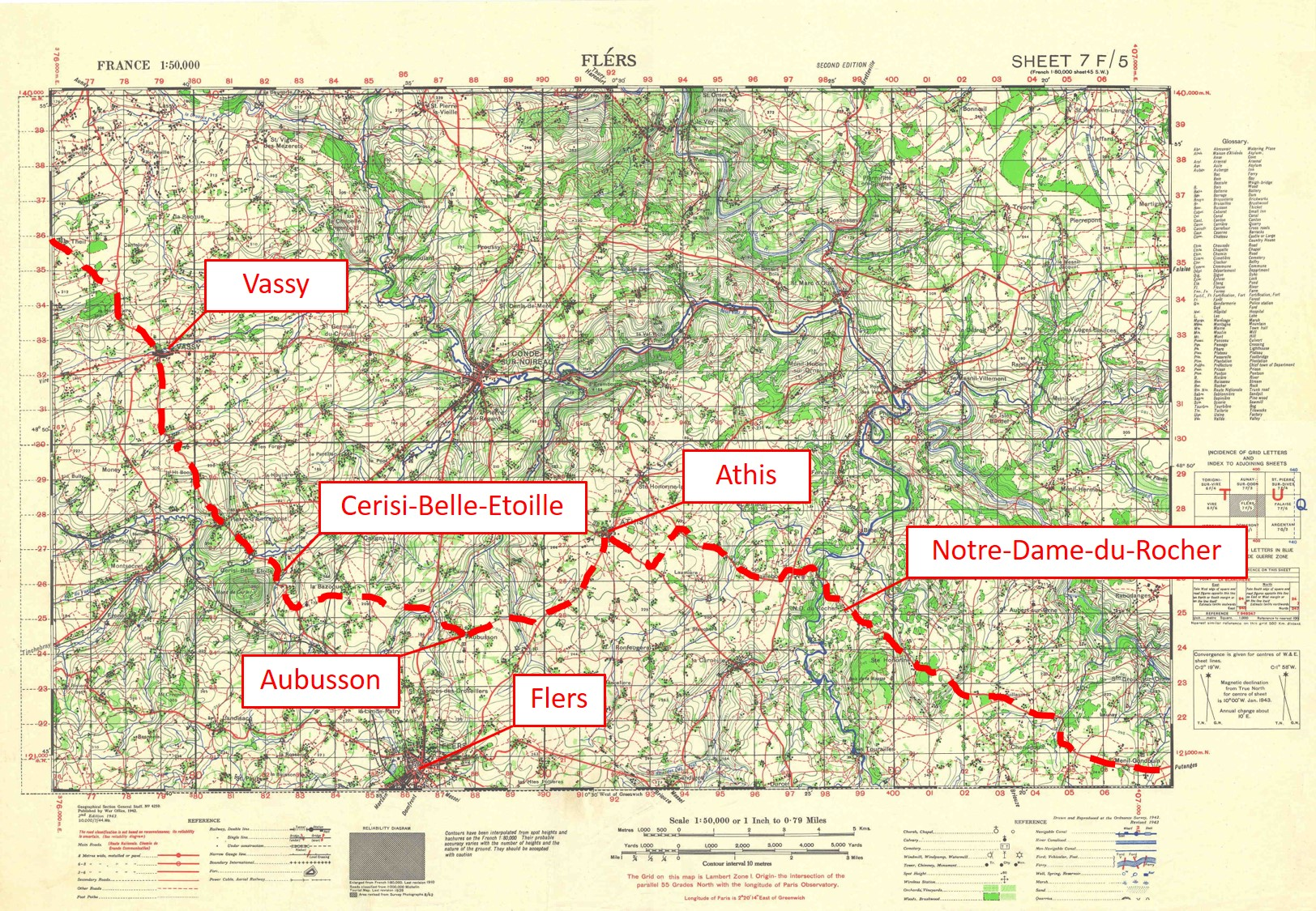 011B - GSGS-4250-7F-5-Flers-route