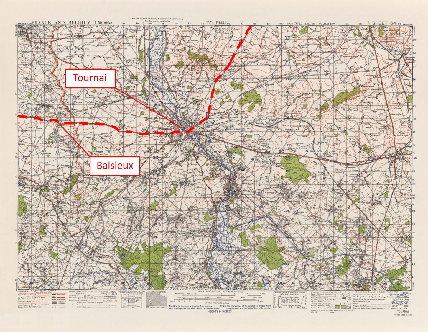 021B - 4040-Tournai-64 - route