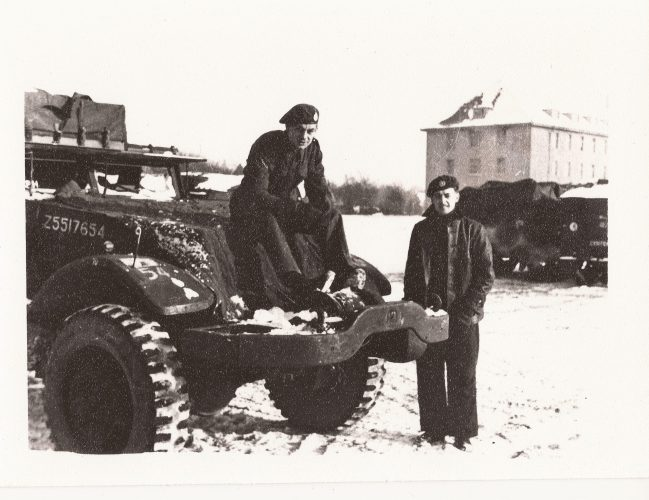 """N059 - """"Graham"""" and unknown, probably G Coy - Anon. collection"""
