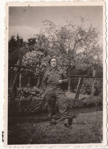 """N065 - """"Ted"""", probably G Coy - anon. collection"""