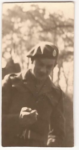 """N066 - """"Graham?! M.T. Cpl."""", probably G Coy - anon. collection"""