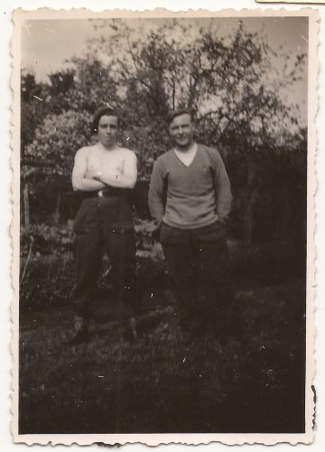 """N068 - """"Swanney & """"Percy"""", probably G Coy - anon. collection"""