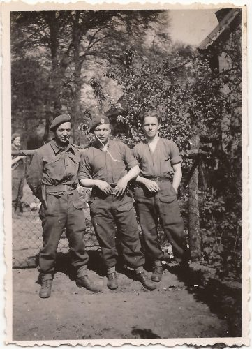 """N069 - """"George"""", """"Swanney"""". """"Sandy"""", probably G Coy - anon. collection"""