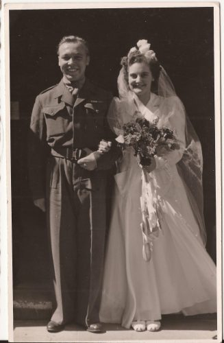 """N074 - """"Swanney"""" & """"Spouse"""". probably G Coy, - Anon. collection"""