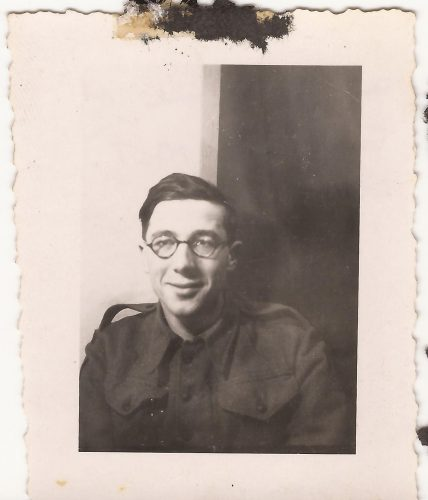 """N086 - """"Tony, our M.T. clerk"""", probably G Coy. - Anon. collection"""