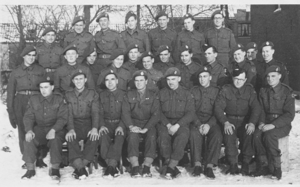 12 Platoon at Bree  Jan 1945