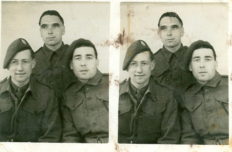 N040 - ??, Sgt. White, ??, G Coy - Sgt. White collection
