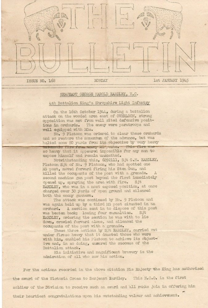 The Bulletin - No. 168, 1 Jan. 1945 - 1/2 - Jeltes collection