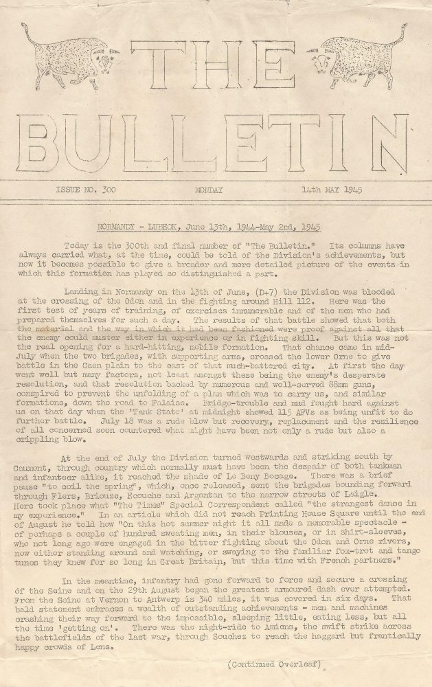 The Bulletin, No. 300 - 14 May 1945 - 1/2 - Fruin collection