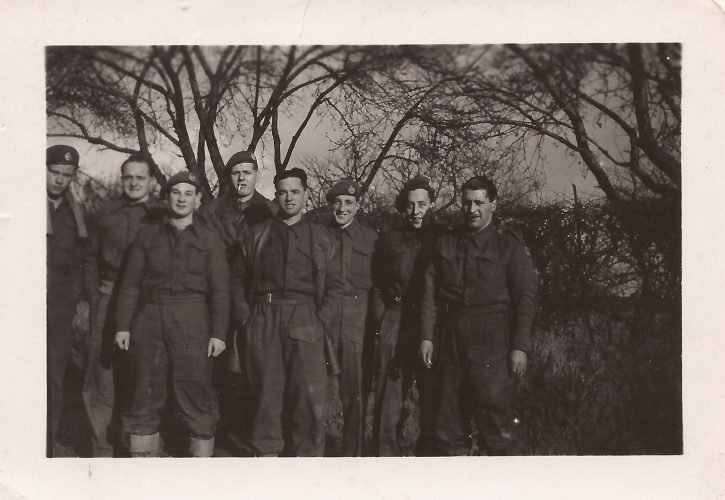 N008 - Sgt. Fruin, 2nd from left - Probably G Company - Sgt. Fruin collection