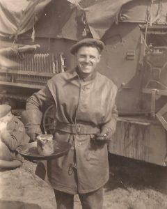 Rifleman in leather jerkin - Sgt. Fruin coll.