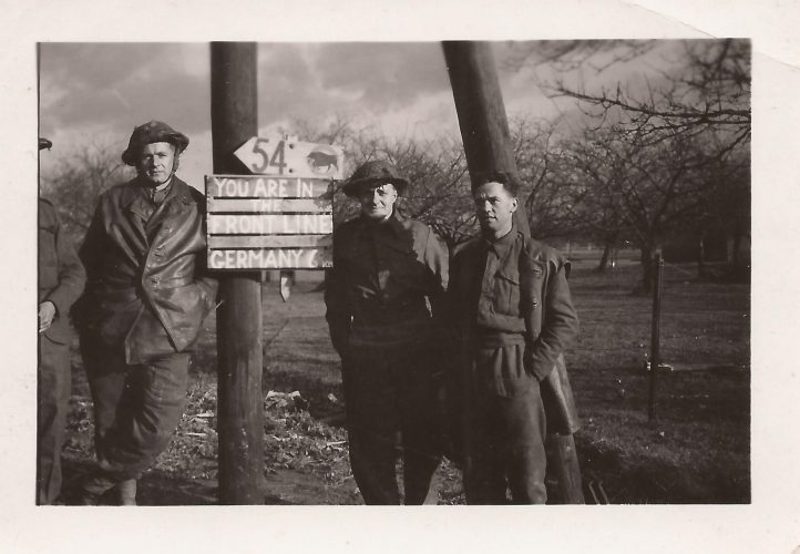 N022 - Sgt. Fruin, middle, G Company - Sgt. Fruin collection