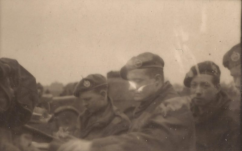 N027 - Sgt. Fruin, front, G Company - Sgt. Fruin collection