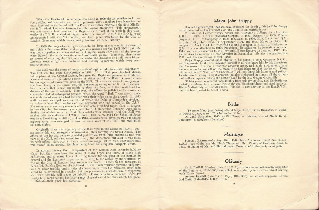 No. 286, January 1941, containing news on name change from 2LRB to '-----' (8RB was not to be disclosed) - Jeltes collection