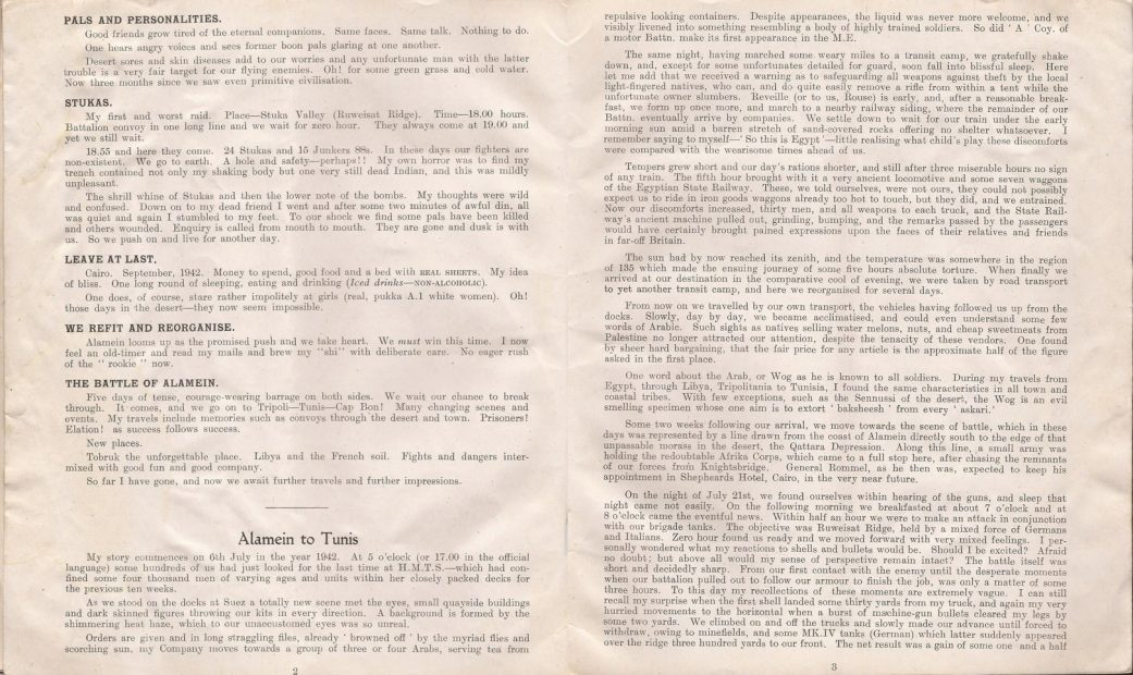 No. 290, October 1944, containing 'Letter from North West Europe', cut by censor...! - Jeltes collection