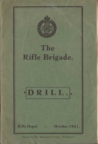 The Rifle Brigade, Drill, October 1941 - Jeltes collection