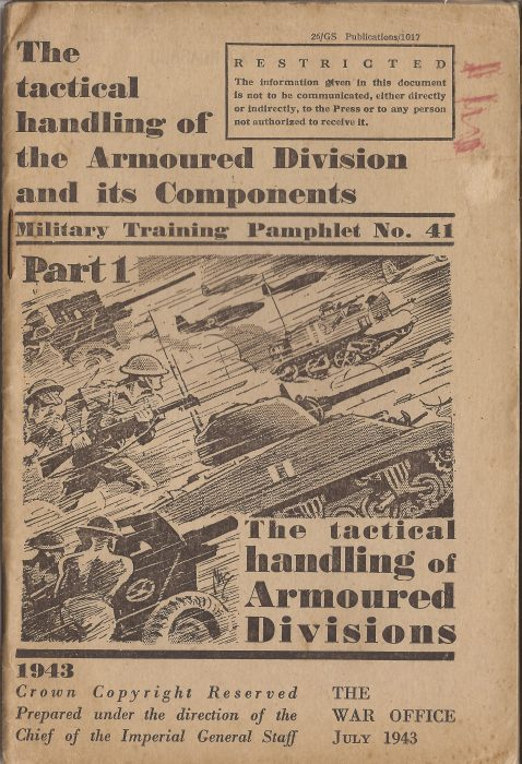 Training Pamphlet - The Armoured Division - Jeltes collection