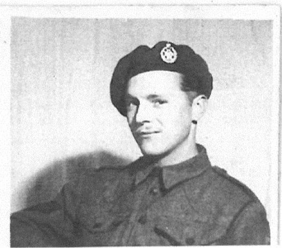 N053 - Unknown member of E Coy, possibly also in N049 and N050 - Rfn. Batkin collection